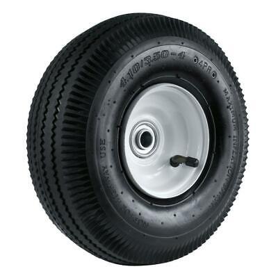 "1 New Commerce Sawtooth 4.10//3.5-6/"" Flatfree Hand Truck UtilityWheel--Hub 2.5-5/"""