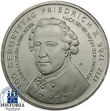 Deutschland 10 Euro Gedenkmünze 2012 bfr. Friedrich II der Große in Münzkapsel