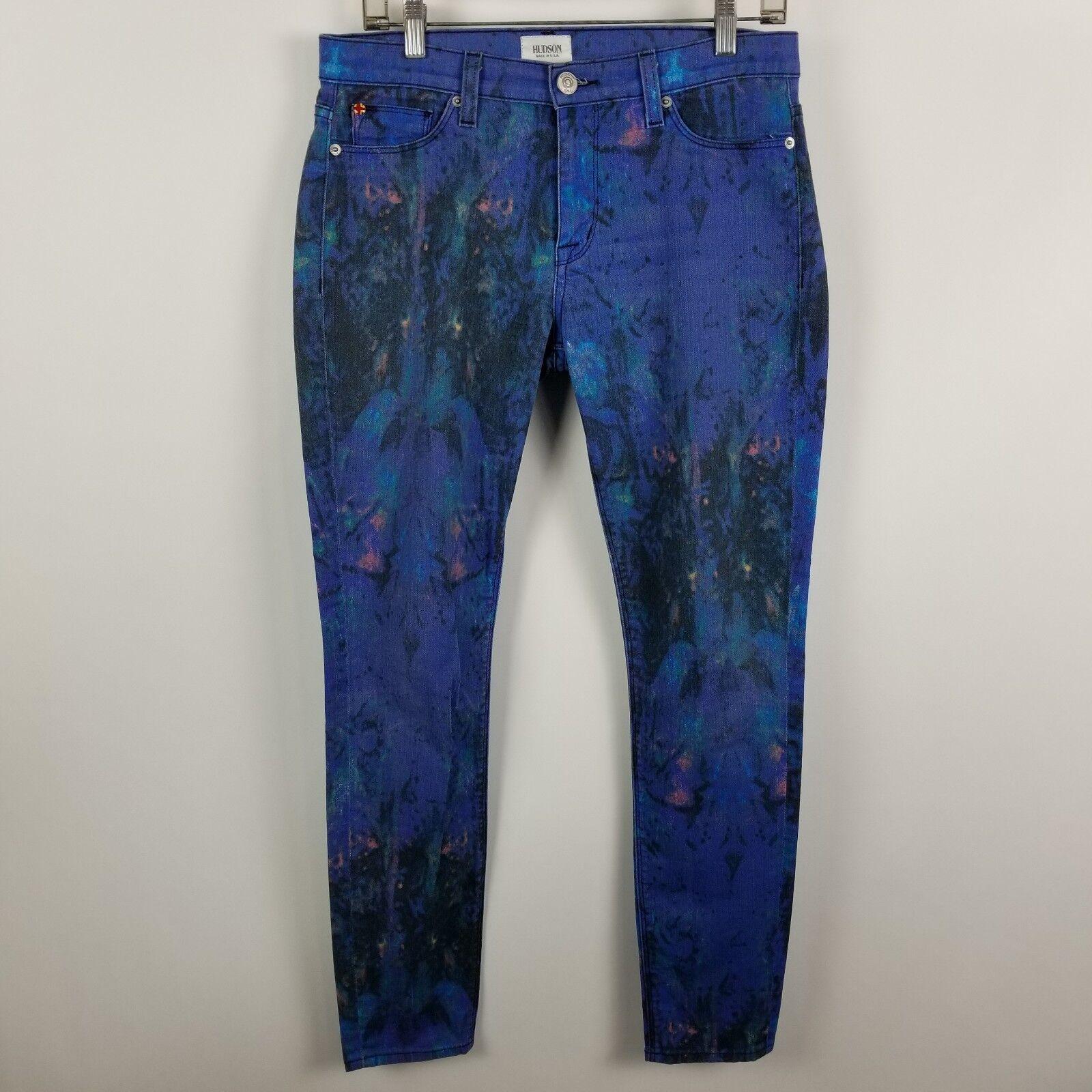 Hudson Jeans Skinny Womens bluee Jeans Size 28