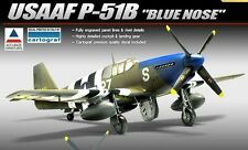 Academy ACCURATE MINIATURES 1/48 USAAF P-51B Blue Nose Cartograf Decal 12303 NIB