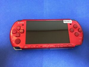 P6565-Sony-PSP-3000-console-Radiant-Red-Handheld-system-Japan-DHL