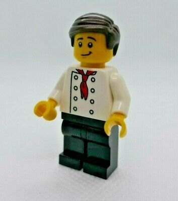 Lego Minifigure Lego City  Construction Site Boss Minifig Split From 60072