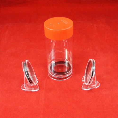 5 Storage Tubes for X Model AirTite Coin Holder Capsules w//Outside Diam 2.12/""