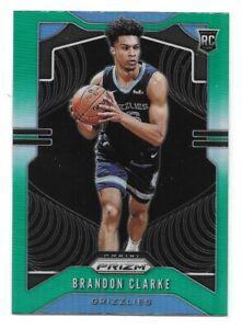 Brandon-Clarke-Rookie-Card-2019-20-Prizm-GREEN-Prizm-266-Memphis-Grizzlies-RC