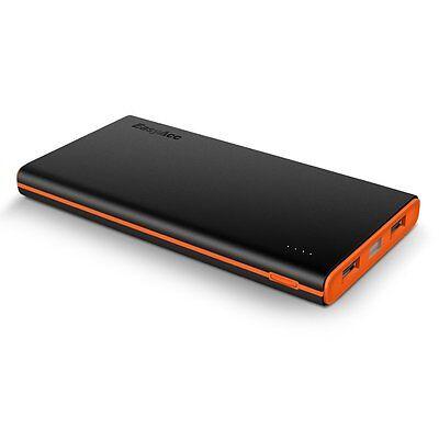 EasyAcc 2nd Gen 10000mAh Dual Ports Power Bank Portable Externer Akku Ladegerät