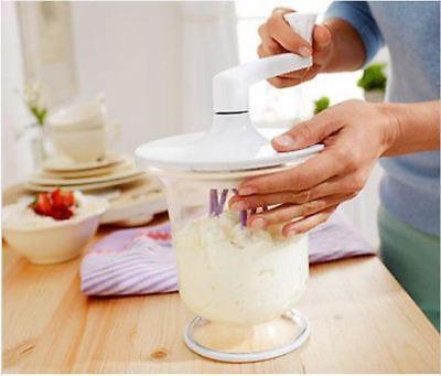 Tchibo Sahne und Dessertbereiter Rührgerät Küchenmaschine Handrühr