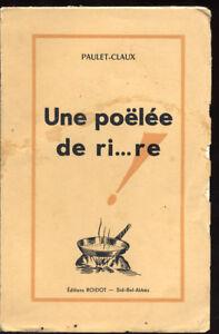 PAULET-CLAUX-UNE-POELEE-DE-RI-RE-DJELIDIEN-ORAN-ALGERIE