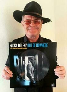 """MICKY DOLENZ DIRECT! NEW """"OUT OF NOWHERE"""" VINYL PICTURE DISC SIGNED 2U * MONKEES"""