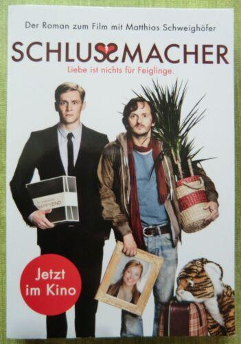 1 von 1 - SCHLUSSMACHER Liebe nichts für Feiglinge Buch z.Kino-Film Matthias Schweighöfer