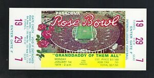 VINTAGE-1979-NCAA-ROSE-BOWL-FULL-FOOTBALL-TICKET-TROJANS-v-MICHIGAN-WOLVERINES