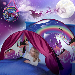 Kid Dream Tents Baby Pop Up Bed Tent Unicorn Foldable