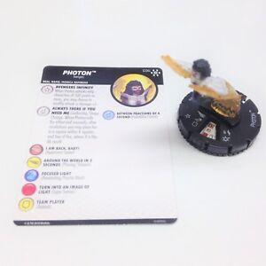 Heroclix-Avengers-Infinity-set-Photon-036-Super-Rare-figure-w-card