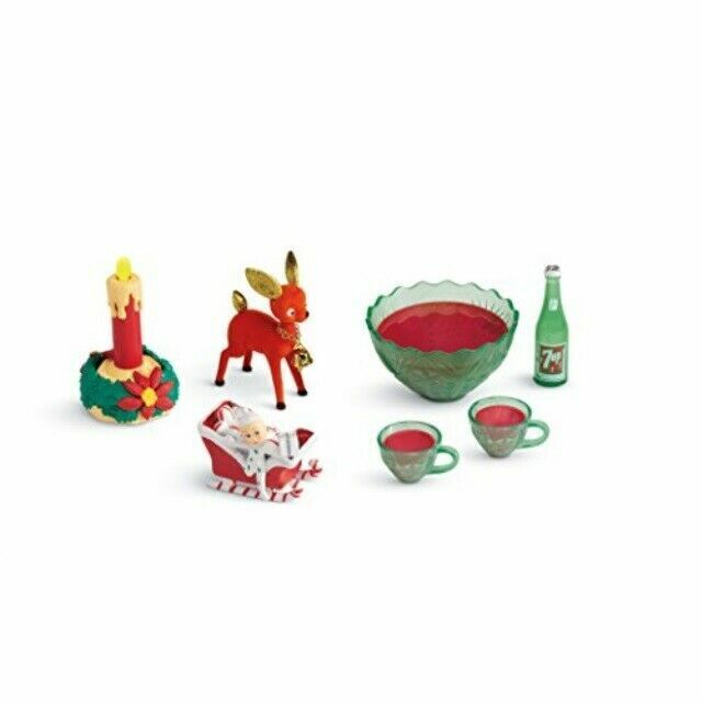 American Girl AG Maryellen/'s Party Punch Set Play Pretend Holiday Food Dishes