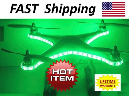 LIFETIME Warranty /_/_/_ Drone//Multirotor//Radio Control-Universel Éclairage DEL Kit Part