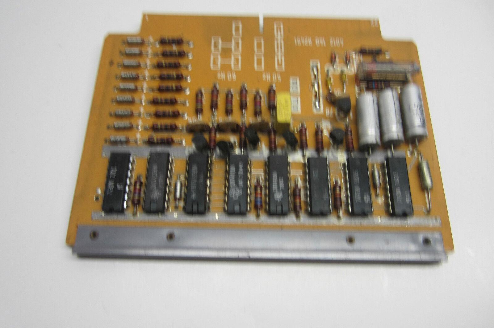 USED BEKUM 4012-151-32711 AMPLIFIER CARD 401215132711