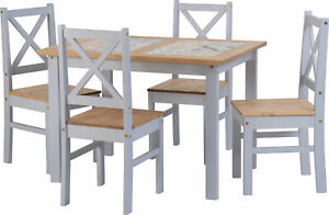Seconique-Salvador-Ceramic-Tile-Top-Dining-Set-Table-amp-4-Chairs-Grey-amp-Pine
