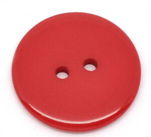 100 x Tiny Small Red Buttons 9mm Great for Handmade Cards FREE P/&P