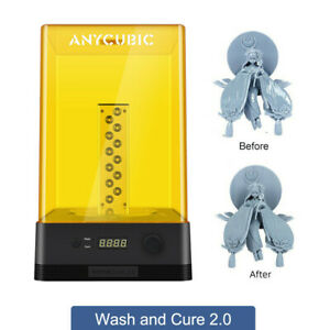 ANYCUBIC Wash and Cure Machine 2.0 für 3D Drucker UV-Licht Curing LED Indicator