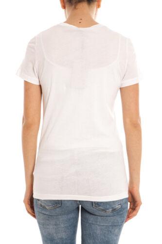 Burberry Cotone Maglietta Donna Bianco T 3971014 Shirt Sweatshirt EI866q