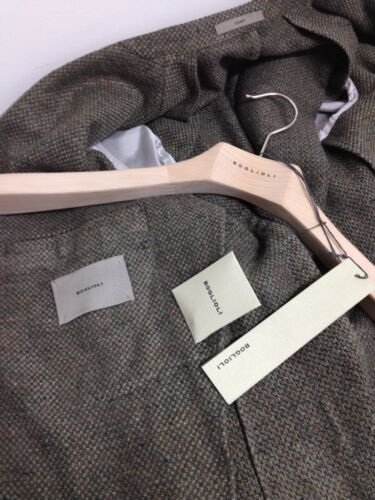 Boglioli Taglia 48 Tweed Destrutturata Nuova Giacca pqxB8w14