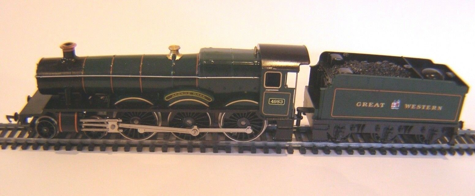 HORNBY  R759 ALBERT HALL 4983 G.W.R. LOCO GREEN  OO Gauge  MADE IN ENGLAND