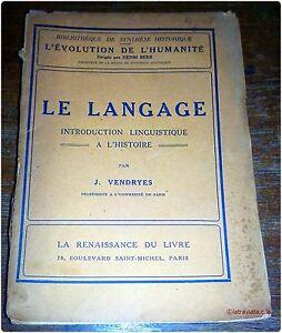 LE-LANGAGE-introduction-linguistique-a-l-039-histoire-Psychologie-Philosophie