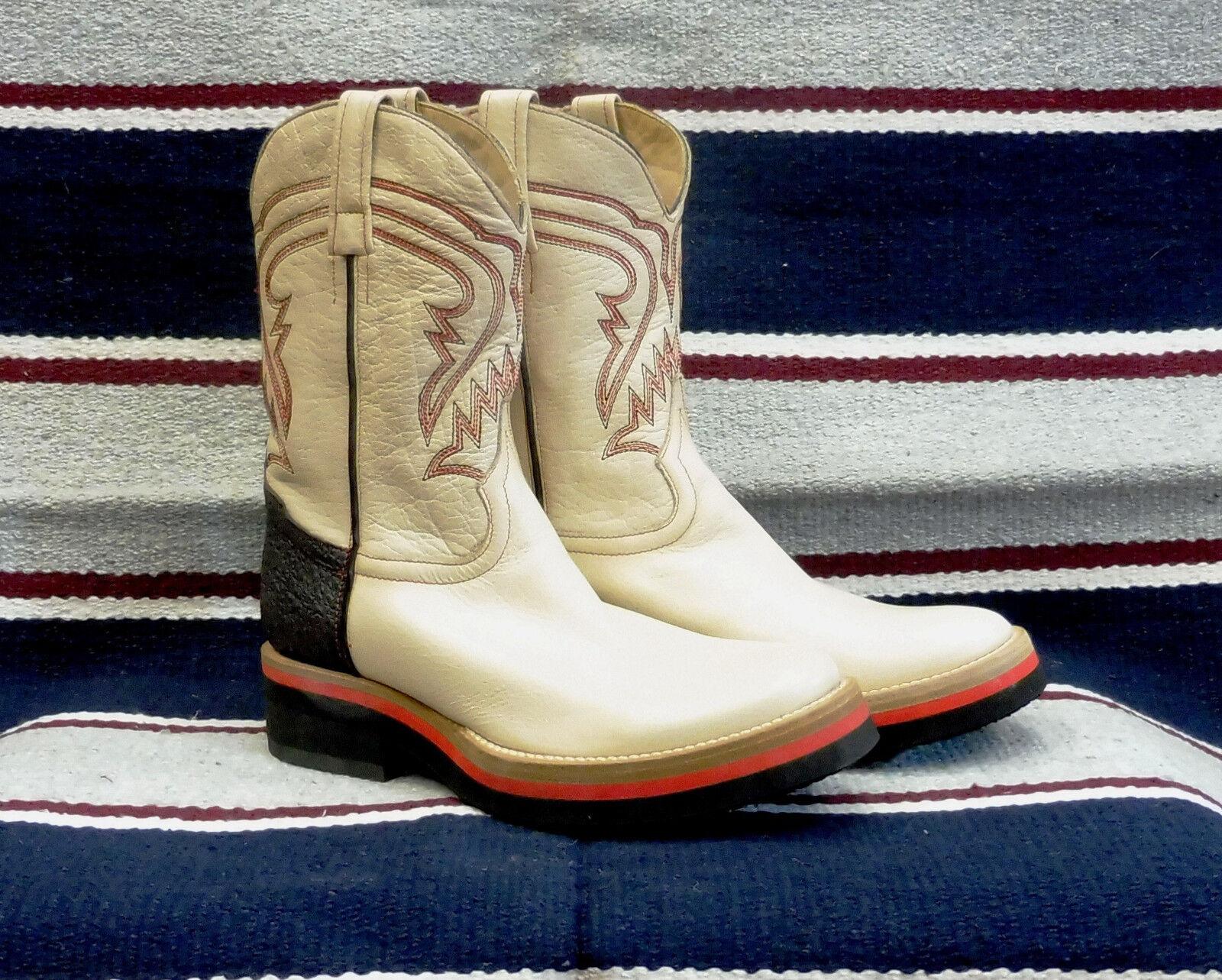 S3030 Stivali stivale roper texani texani texani country western cowboy BARKLEY 36.5 - 39.5 2801f9