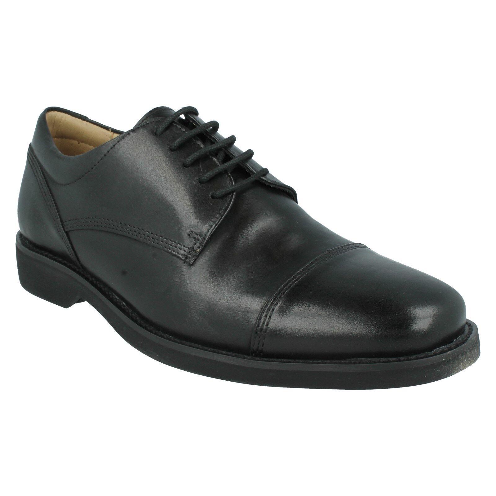 Gran descuento Para Hombre Anatomic & Co Abatia Formal Cuero Con Cordones Plantilla Gel Negro Zapatos De Trabajo