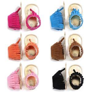 Tassel Shoes Anti-slip Flip Flop Newborn Sandal 0-18M детская обувь