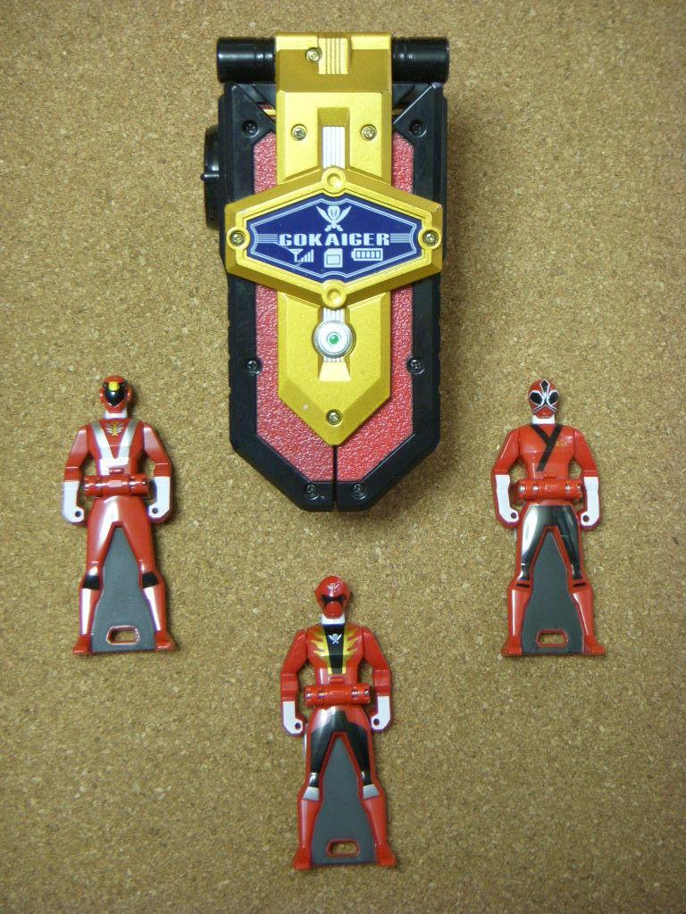 GOKAIGER Gokai Mobirates Morpher POWER RANGERS Key Super Megaforce Megaforce Megaforce BANDAI Japan f6d708