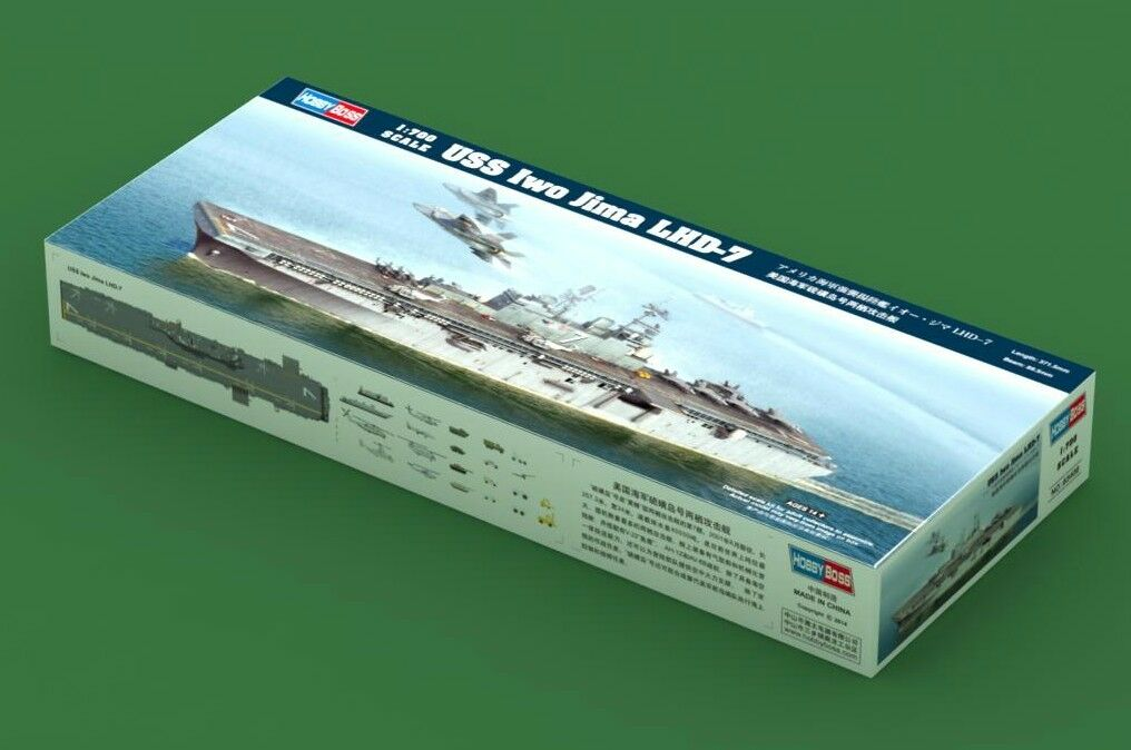 83408 Hobby Boss USS Jima Amphibious Assault Ship Warship Kit 1 700 Model Battle