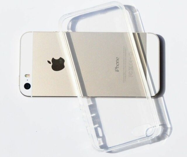 Clear Transparent Crystal Soft TPU Silicone Gel Cover Case for iPhone 5/5s GB