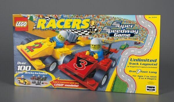 Lego 31314 - rennfahrer super speedway - brettspiel