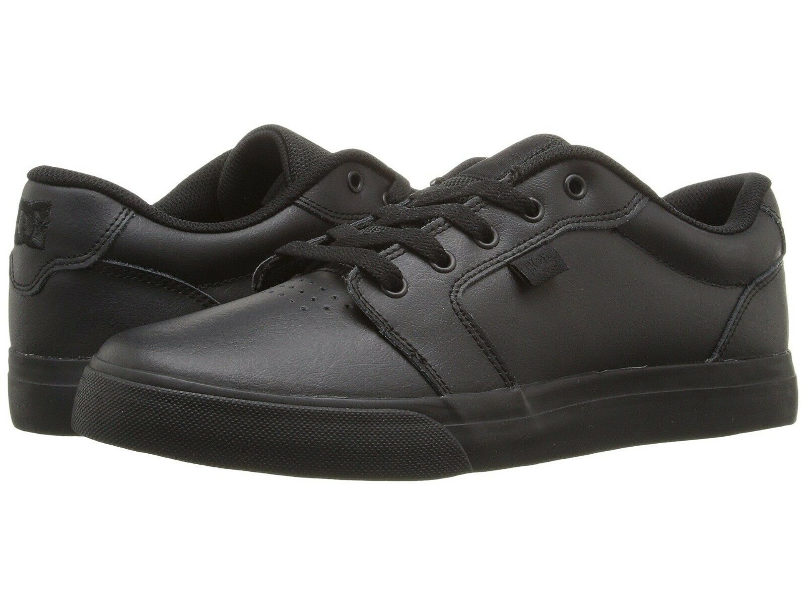huge discount 00a01 fdde3 DC Anvil Anvil Anvil SE Shoes Leather Black Black For Men s New In Box  300147 22e164