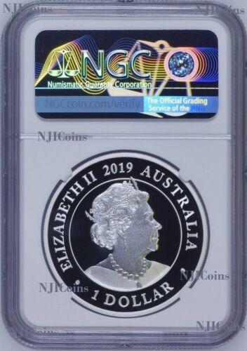 2019 P AUSTRALIA Wedding 1oz SILVER PROOF COIN NGC PF70 UC FR