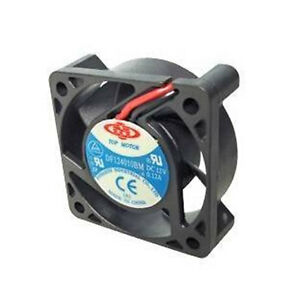 Top-Motor-DF124010BM-12V-0-14A-Ball-Bearing-40mm-x-10mm-Cooling-Fan-3-pin-wire