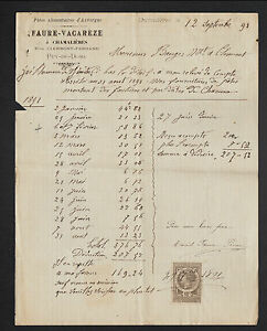 CHAMALIERES-63-USINE-de-PATES-ALIMENTAIRES-034-FAURE-amp-VACAREZE-034-en-1891