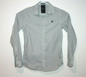 G-Star-Raw-Correctline-Dress-Formal-Shirt-Men-039-s-Size-Small