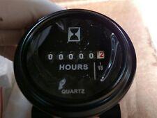 """12v 24v 36v Digital Hour Meter for Marine Boat Engine 2"""" Round Gauge John Deere"""