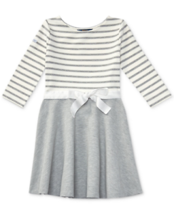 8e1adc0c0a9a NWT Ralph Lauren Polo Girls Nautical Inspired Striped Dress M Medium ...
