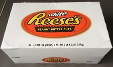 24x Reeses Reese's 2 Peanut Butter Cups mit Erdnussbutter 42g white weiß