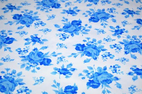 100/% Brushed//Brush Cotton Printed Winceyette Flannel Fabric,Floral Print 4 Des.