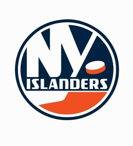 sale retailer c21ab fd8c2 Details about New York Islanders NHL Hockey Full Color Logo Sports Decal  Sticker-Free Shipping