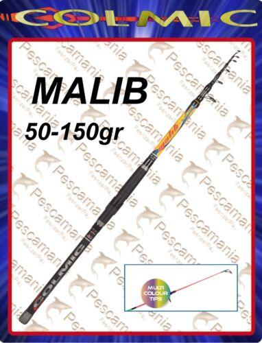 00-3 50-150gr Fishing Rod Colmic Malib Boat Bolentino 2,70-3 50mt