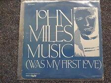 John Miles - Music (New Extended Version)/ Slow down 12'' Disco Vinyl 1977