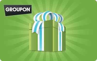 GROUPON Gift Card $25 $50 $100 - mail delivery