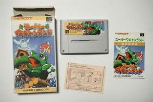 Super Famicom Super Wagyan Land boxed Japan SFC game US Seller