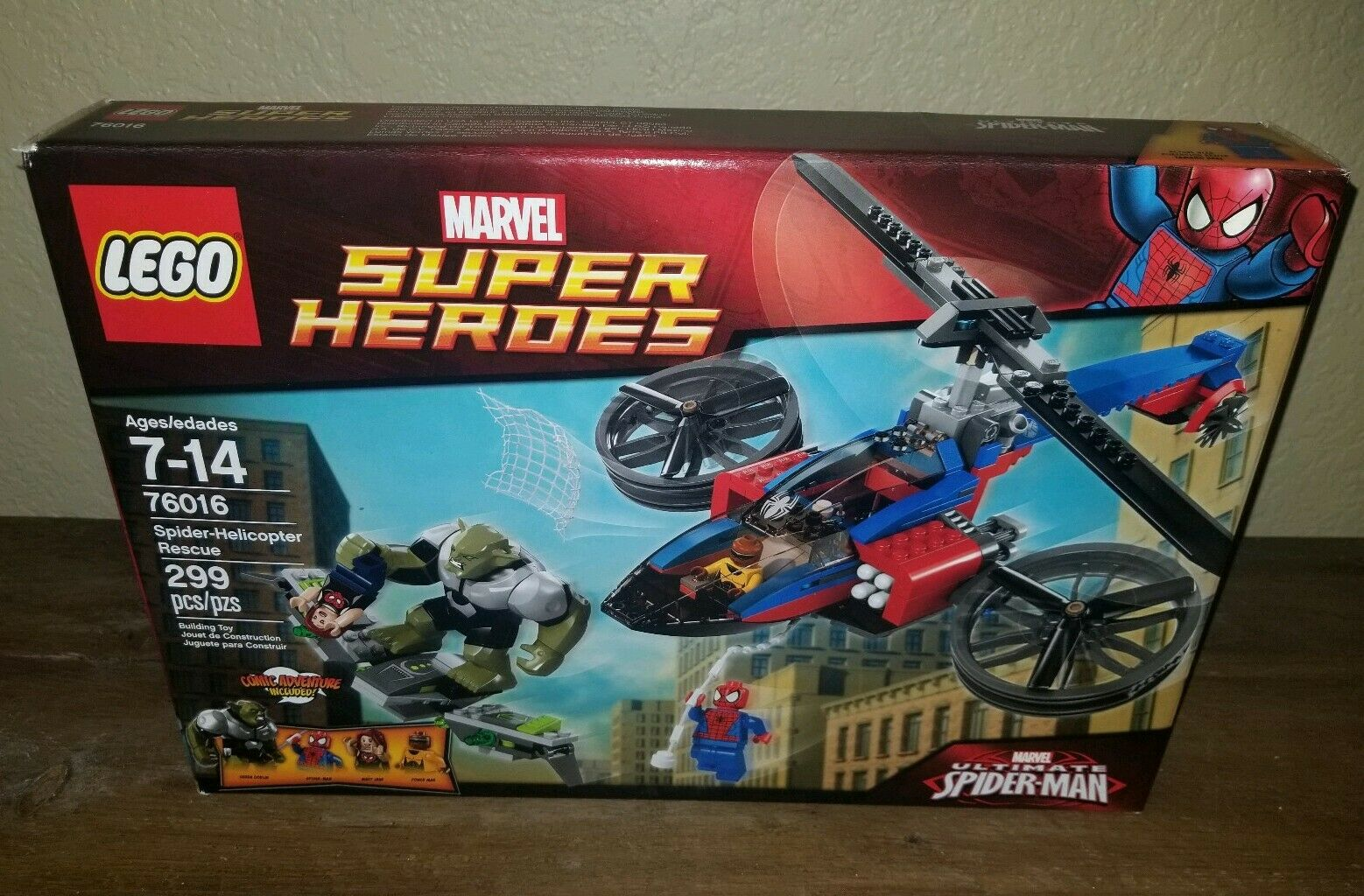 2014 LEGO Marvel Spider-Helicopter Rescue - New New New Sealed 8e7768