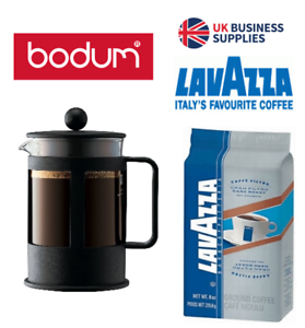 Details About Bodum Coffee Press 3 Cup Black Discounted Lavazza Offers
