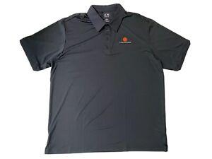 NWOT-ADIDAS-Men-039-s-Climalite-Short-Sleeve-MAUNA-KEA-Golf-Collared-Polo-Shirt-XL